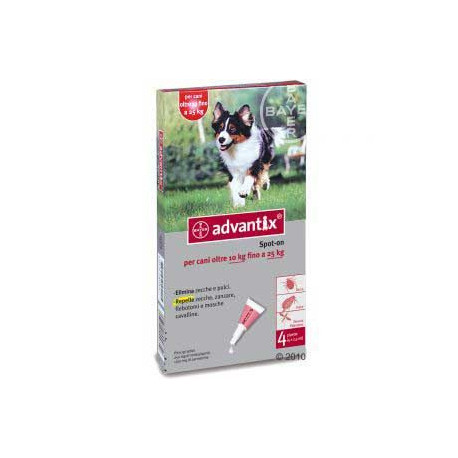 Advantix Spot On Cani 10-25 Kg