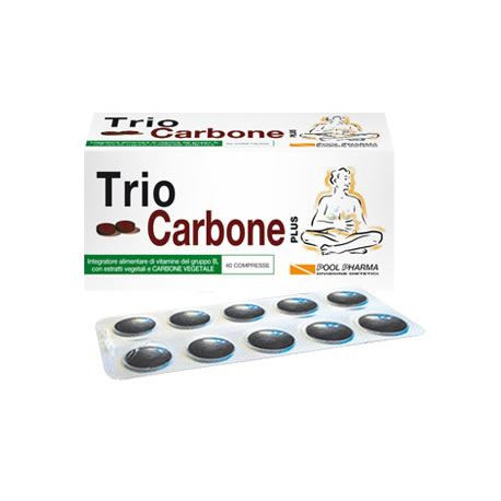Trio Carbone 40 Compresse