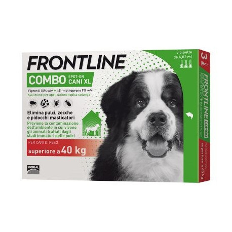 Frontline Combo Spot-on Cani >40kg