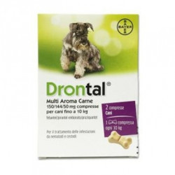 Drontal Multi Ar Carne 2 Compresse