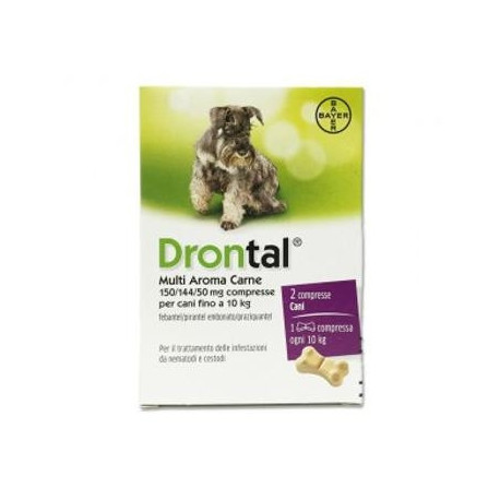 Drontal Multi Ar Carne* 2 Compresse