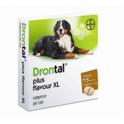 Drontal Plus Flavour Xl 2 Compresse Cani