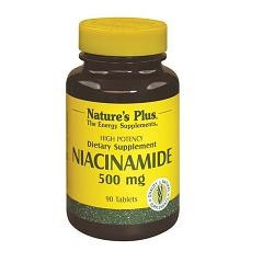 Nature's Plus Niacinamide 90 Tavolette 500 Mg