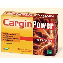 Cargin Power 12 Buste Astuccio 20,4 G