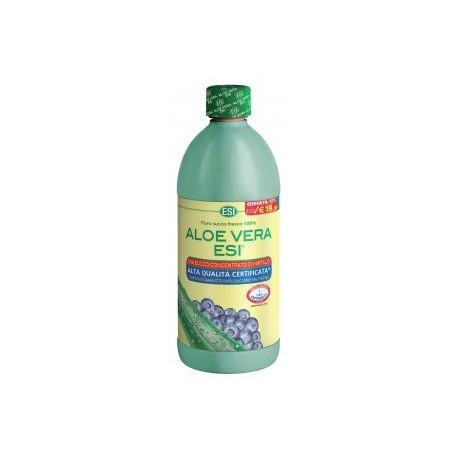 Esi Aloe Vera Succo Concentrato Mirtillo 1 Lt