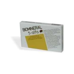 Biomineral 5 Alfa 30 Compresse per capelli