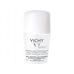 Vichy Deodorante Roll-on Pelle Sensibil 50 Ml
