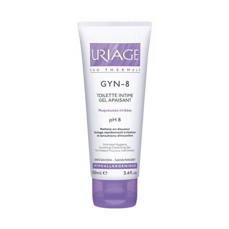 Uriage Gyn-8 Gel Detergente Intimo 100 Ml