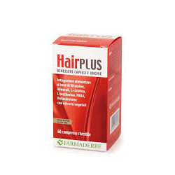 Farmaderbe Hair Plus 60 Compresse