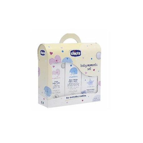 Chicco Baby Moments Set Bagno Crema Corpo E Acqua Di Colonia