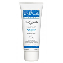 Uriage Pruriced Gel lenitivo per il prurito della cute fragile 100 Ml