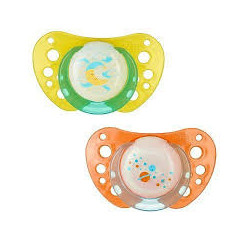 Chicco Succhietto Physio Air Luminoso Silicone 12m+