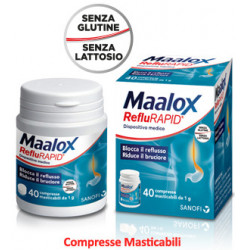Maalox Reflurapid 40 Compresse