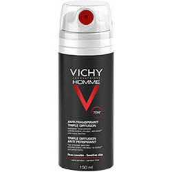 Vichy Homme Deodorante Spray Anti-traspirante 72 Ore 150 Ml