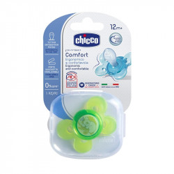 Chicco Succhietto Physio Comfort In Silicone Neutro 12m+