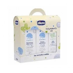 Chicco Baby Moments Set Bagno + Shampoo + Pasta