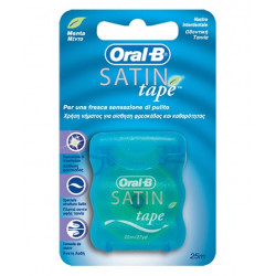 Oral B Filo Interdentale Satin Tape 25 Metri