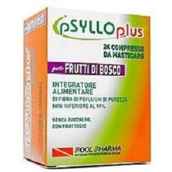 Psyllo Plus Frutti Di Bosco 24 Compresse