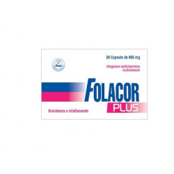Folacor Plus 30 Capsule