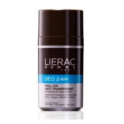 Lierac Homme Déo deodortante H24 Roll On 50 Ml