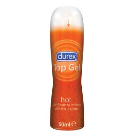 Durex Top Gel Hot Lubrificante