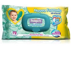 Salviettine Umidificate Pampers Baby Fresh 30% 20 Pezzi