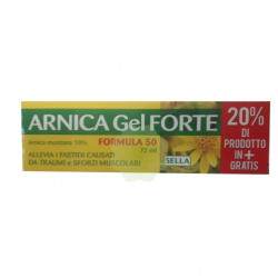 Sella Arnica 10% Gel Forte 72ml