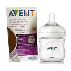 Avent Biberon Natural Vetro 120 Ml