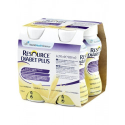 Resource Diabet Plus Vaniglia 4x200ml