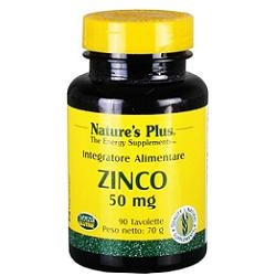 Nature's Plus Zinco Chelato 50 Mg 90 Tavolette