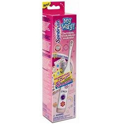 Spazzolino Spinbrush My Way Girls