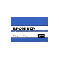 Bromiser 20 Compresse 850mg