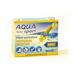 Aquasport Earplug Scudo Adulti 2 Pezzi