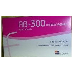 Ab 300 Lavanda Vaginale 5 Flaconi 140ml