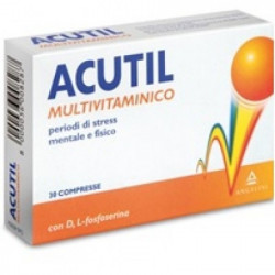 Acutil Multivitaminico 30 Compresse