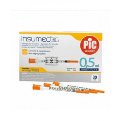 Pic Insumed Siringa Da Insulina 0,5ml 30 Pezzi