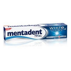 Mentadent Dentifricio White System 75ml