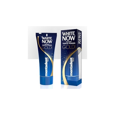 Dentifricio Mentadent Triple Power Gold 50 Ml