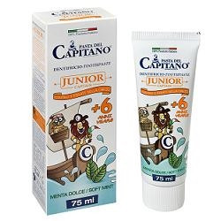 Pasta Capitano Dentifricio Junior 75 Ml