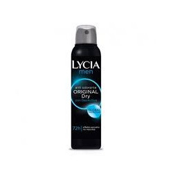 Lycia Spray Gas Antiodorante Men Original Dry 150 Ml