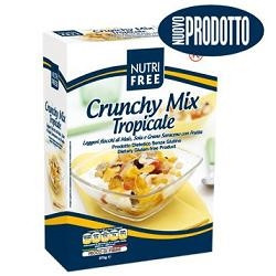 Nutrifree Crunchy Mix Tropicale 375 G 1 Pezzo