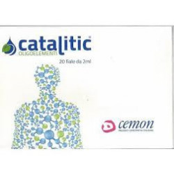 Cemon Catalitic Cromo 20 Fiale Da 2ml
