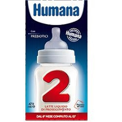 Humana 2 Gos 12 Slim Pack 470 Ml