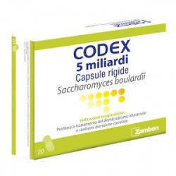 Codex*20 Capsule 5m Miliardi 250mg Blister