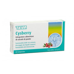 Cysberry Teva 20 Compresse