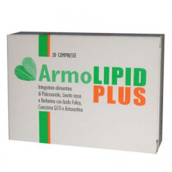Armolipid Plus 20 compresse Integratore per il controllo del colesterolo