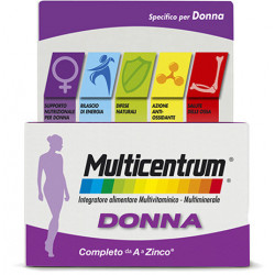 Multicentrum Donna 30 Compresse integratore multivitaminico