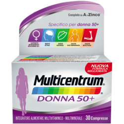 Multicentrum Donna 50+ integratore di vitamine 30 Compresse