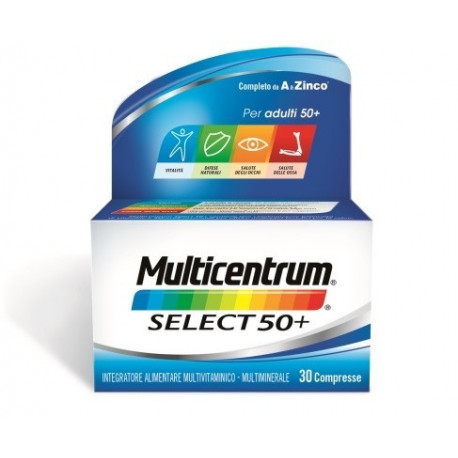 Multicentrum Select 50+ 30 Compresse