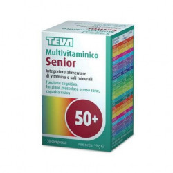Teva Multivitaminico Senior 30 Compresse